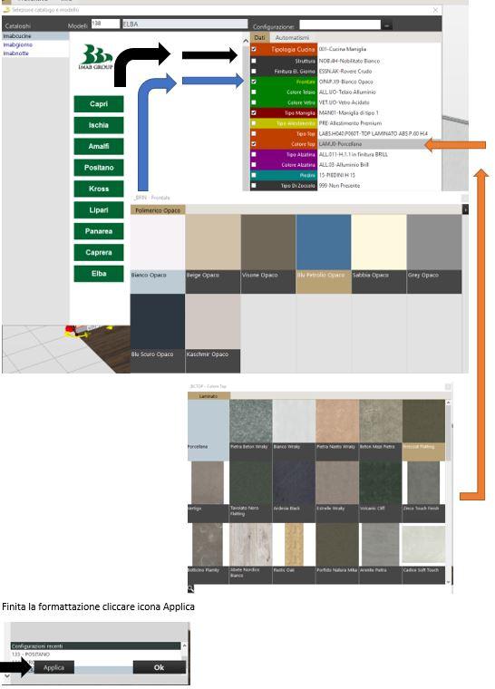 09 progettare cucine sale configuratori imab for Configuratore cucine